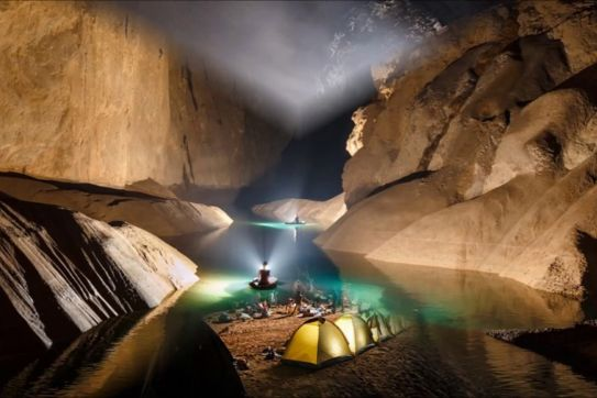 Into the deep: A dream adventure into Son Doong's little sister, Tu Lan Cave